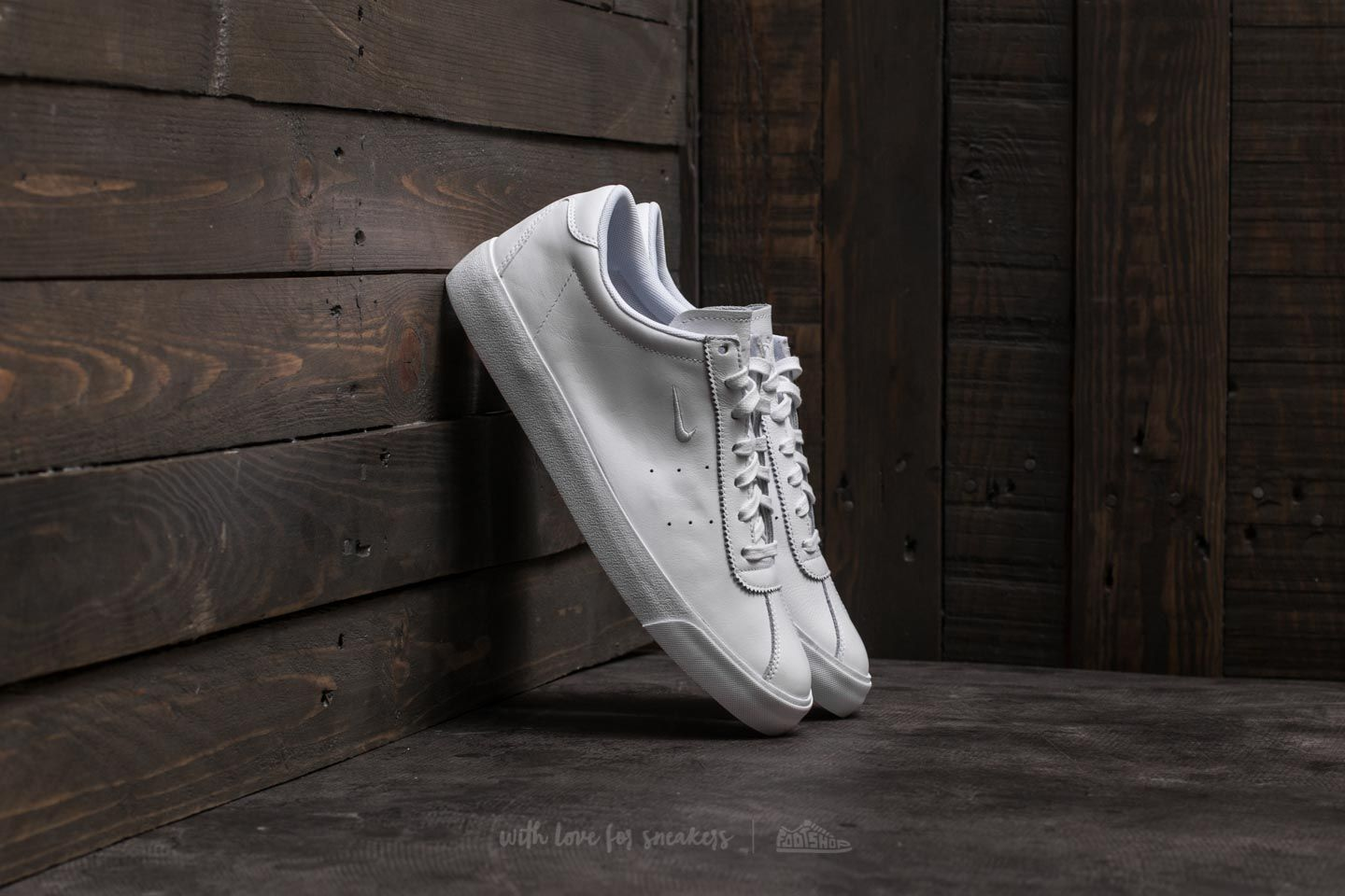 81e2c09eb9f Nike Match Classic Leather White  White