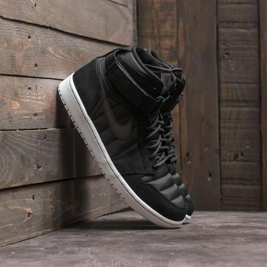 Air Jordan 1 High Strap Black/ Black-Pure Platinum EUR 44.5