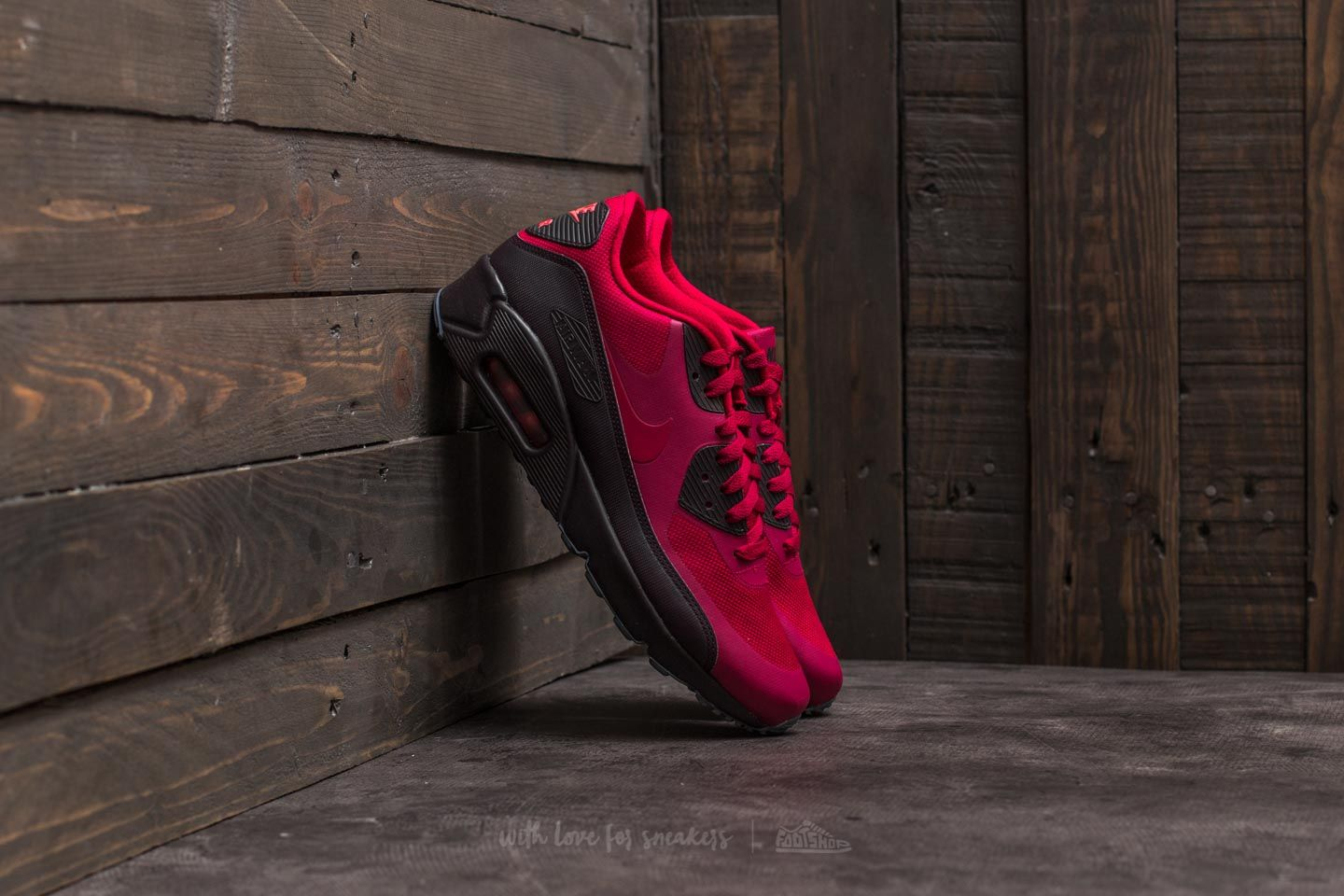 Nike Air Max 90 Ultra 2.0 Essential Noble Red Noble Red Port Wine | Footshop