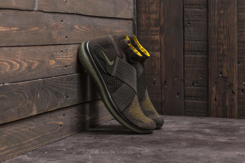 d453d8930bbc3 Nike Free Run Motion Flyknit 2017 Sequoia  Medium Olive