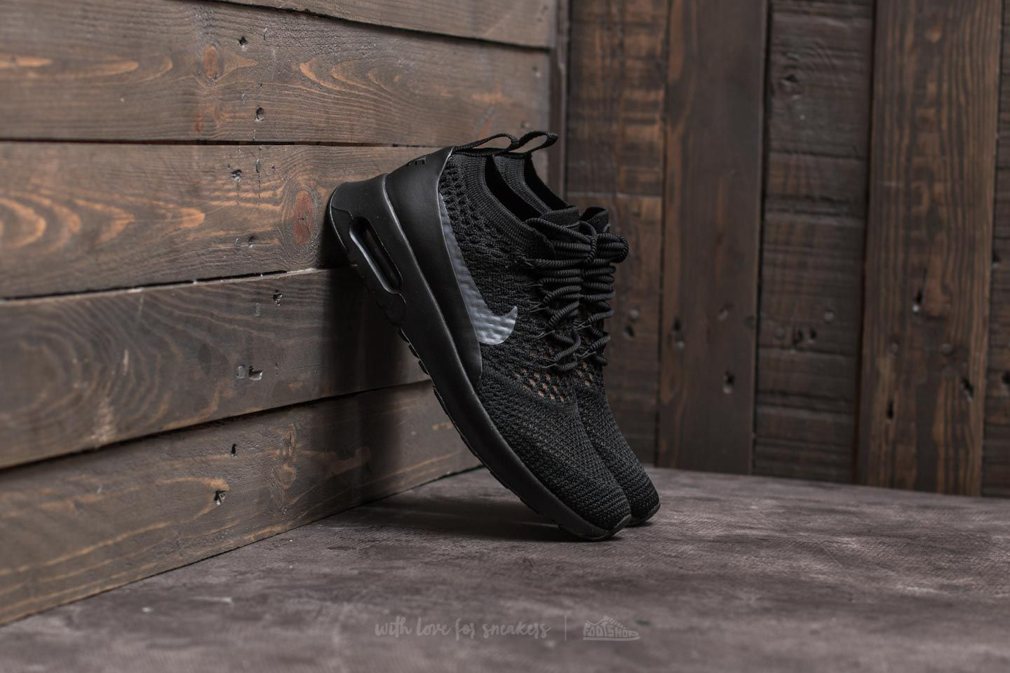 W Nike Air Max Thea Ultra Flyknit Black  Dark Grey  30d832837