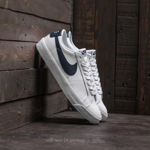 best website great prices closer at Nike SB Zoom Blazer Low White/ Obsidian | Footshop