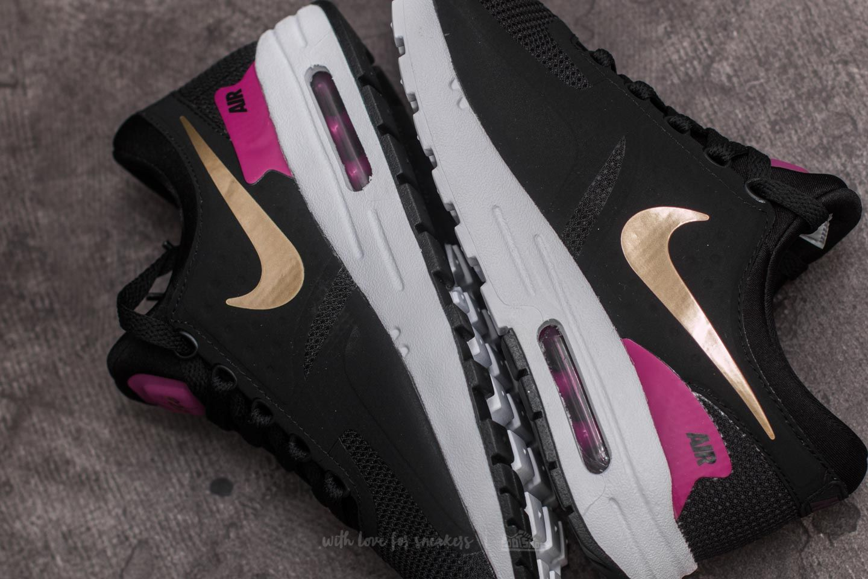 Nike Air Max Zero Essential (GS) Black Metallic Gold White