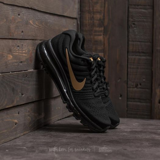 Nike Air Max 2017 (GS) Black/ Metallic Gold | Footshop