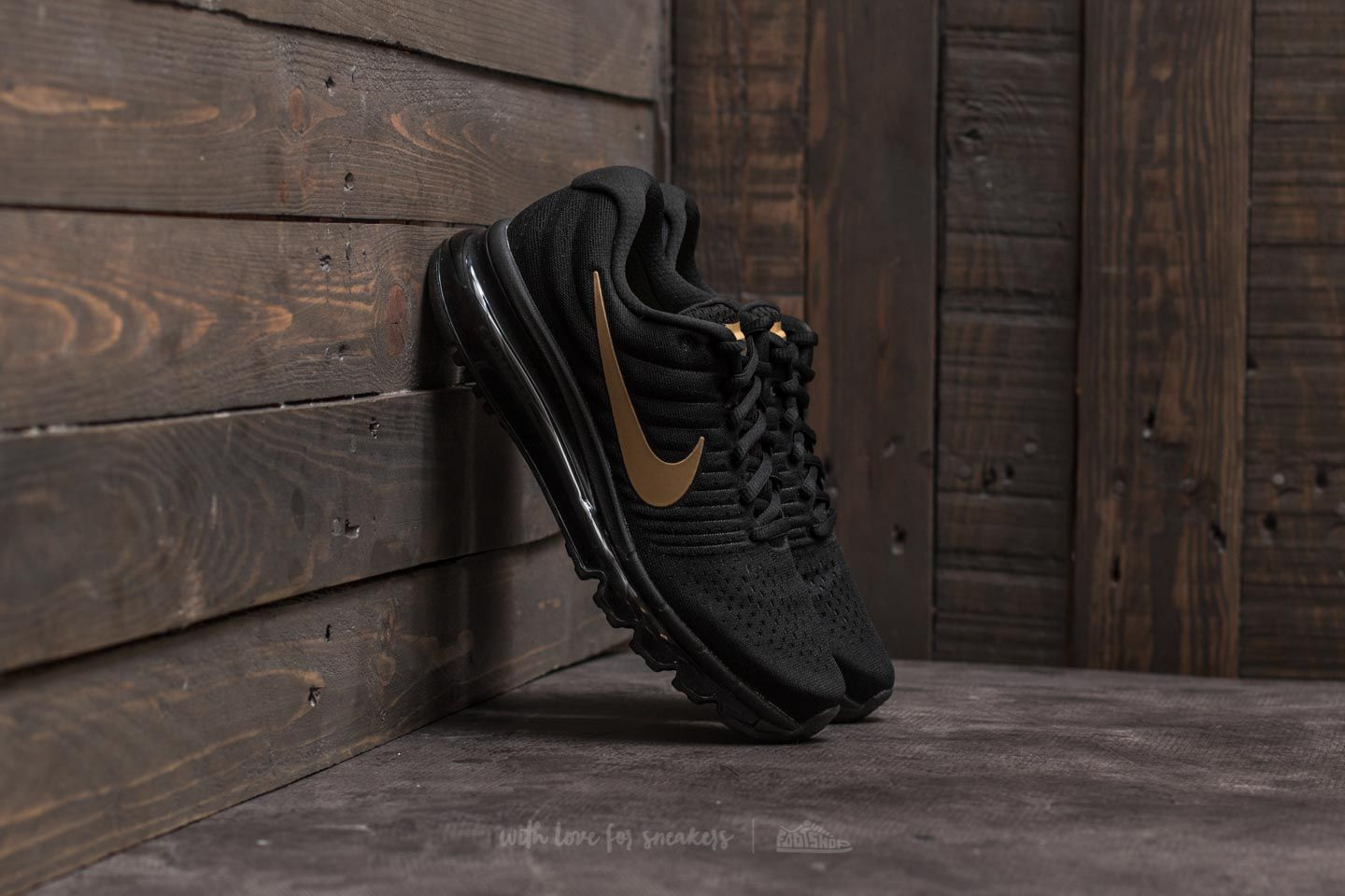 newest collection 64c4e 8cf05 Nike Air Max 2017 (GS) Black/ Metallic Gold | Footshop