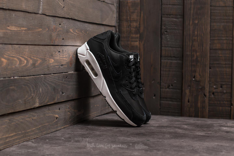 Nike Air Max 90 Ultra 2.0 Leather Black  Black  a173cc92c