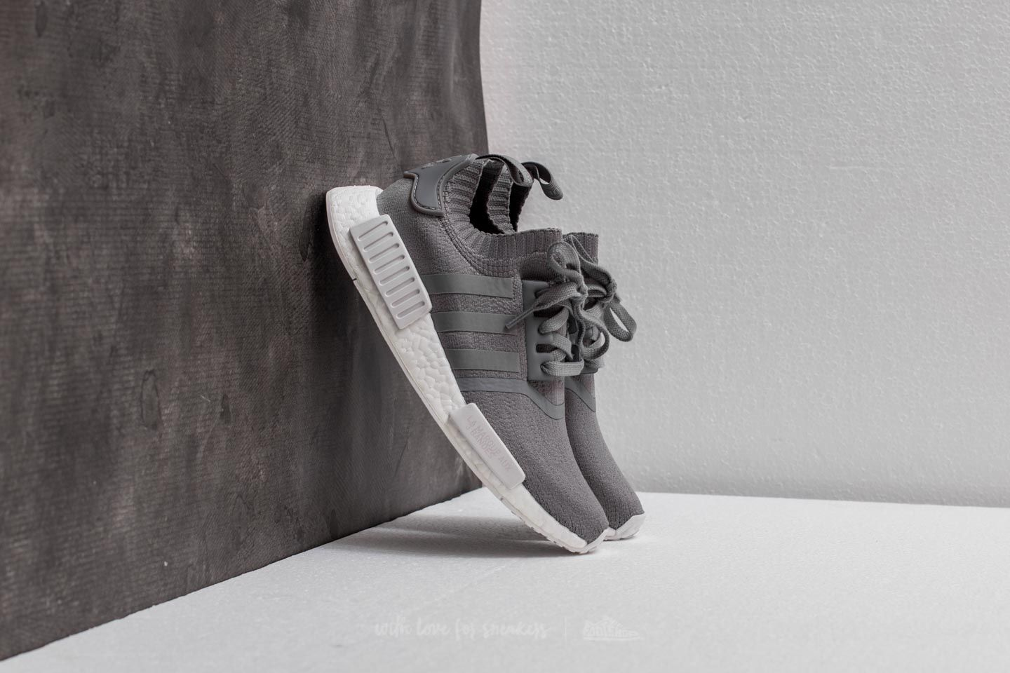 adidas NMD_R1 W Primeknit Grey Three/ Grey Three/ Footwear White