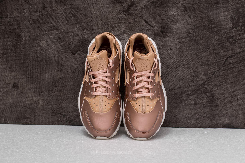 Nike WMNS Air Huarache Run Premium TXT Elm Metallic Red Bronze | Footshop