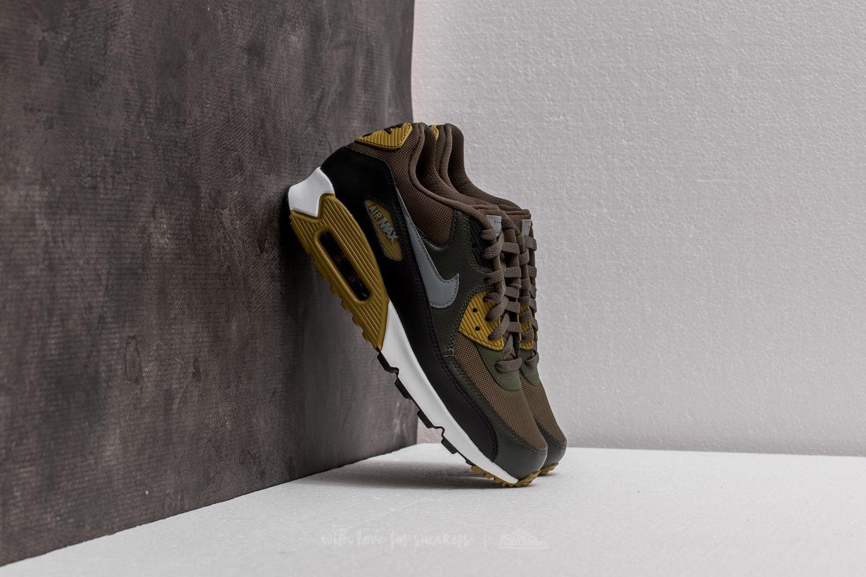 Nike Air Max 90 Essential Cargo Khaki/ Cool Grey-Black | Footshop