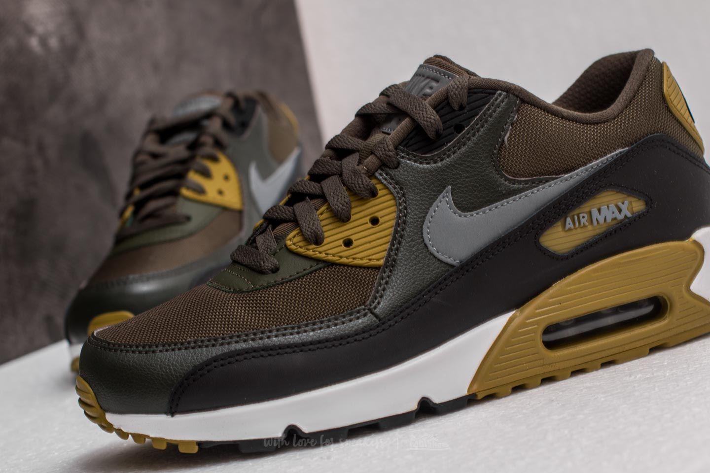 Nike Air Max 90 Essential Cargo Khaki Cool Grey Black | Footshop