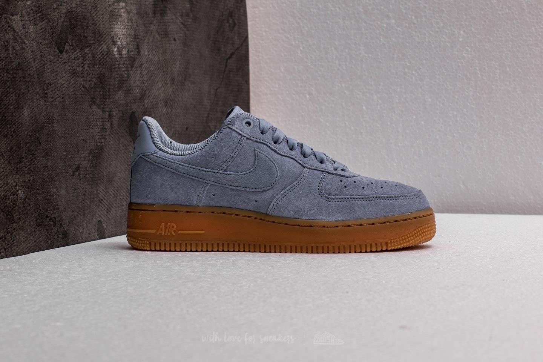 Nike Wmns Air Force 1'07 SE Glacier Grey Glacier Grey | Footshop