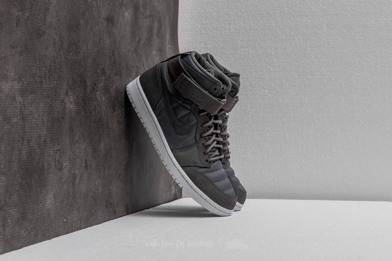 a610ec08e89f3 Air Jordan 1 High Strap Dark Grey  Dark Grey