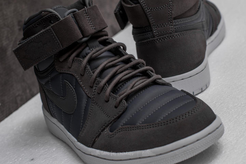 new arrival 874c2 36619 Air Jordan 1 High Strap Dark Grey/ Dark Grey | Footshop