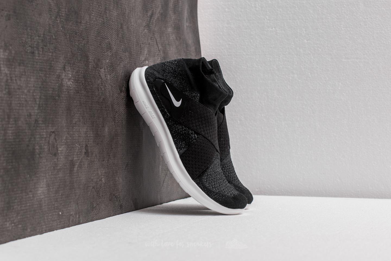 super popular 9cb5c 38b5d Nike W Free RN Motion Flyknit 2017. Black  White-Dark Grey-Volt