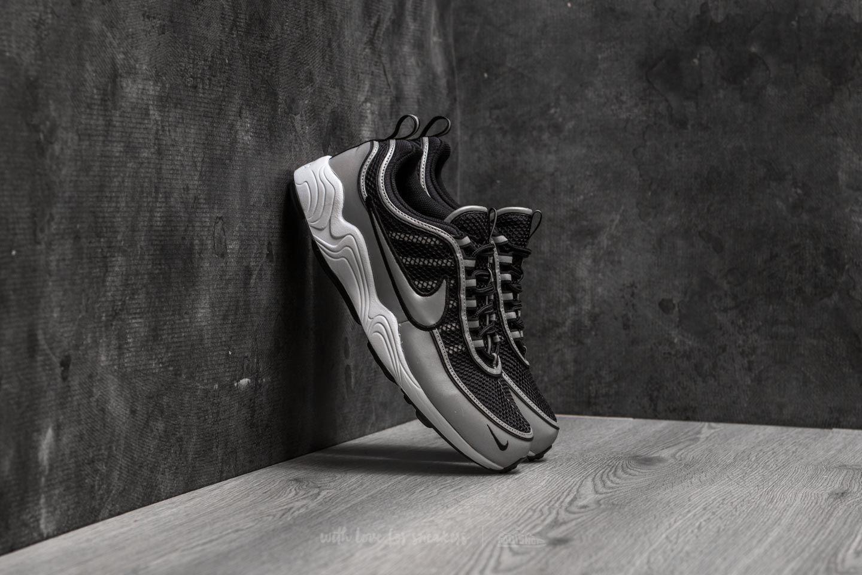96f3a2c61ce7 Nike Air Zoom Spiridon  16 Black  Metallic Silver
