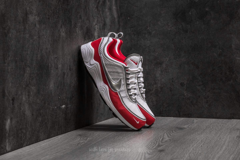55b943b3977e Nike Air Zoom Spiridon  16 White  Metallic Silver