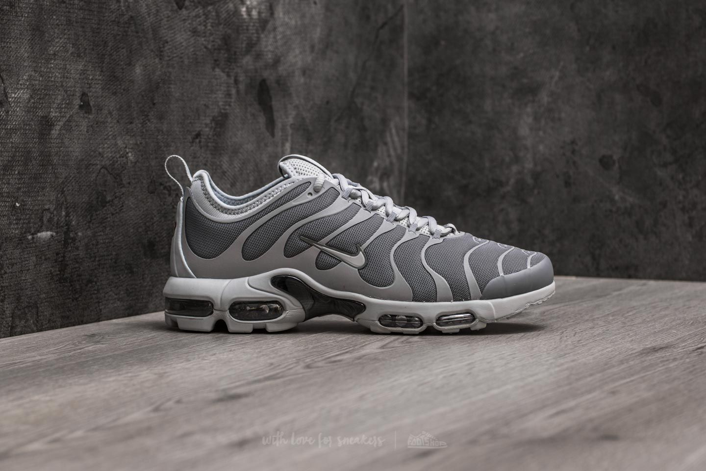 pretty nice 24466 e76cf Nike Air Max Plus TN Ultra Cool Grey/ Wolf Grey-Black | Footshop