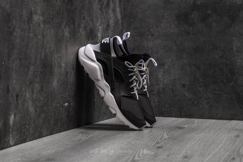87feeee5481 Nike Air Huarache Run Ultra Black  White-Wolf Grey
