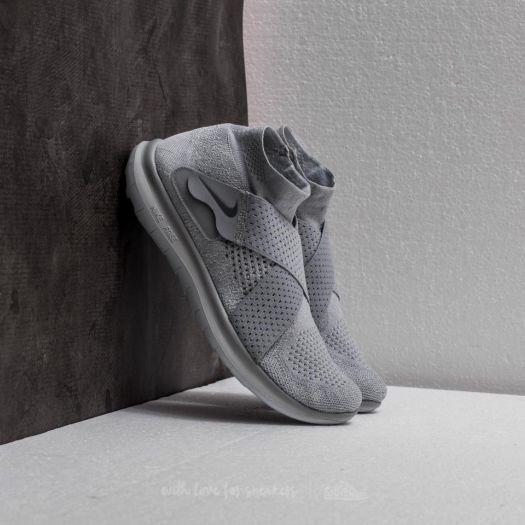 Nike Free Run Motion Flyknit 2017 Wolf Grey Cool Grey   Footshop