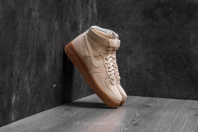 brand new 66861 1dbad Nike Wmns Air Force 1 Hi SE. Muslin  Muslin-Gum Medium Brown