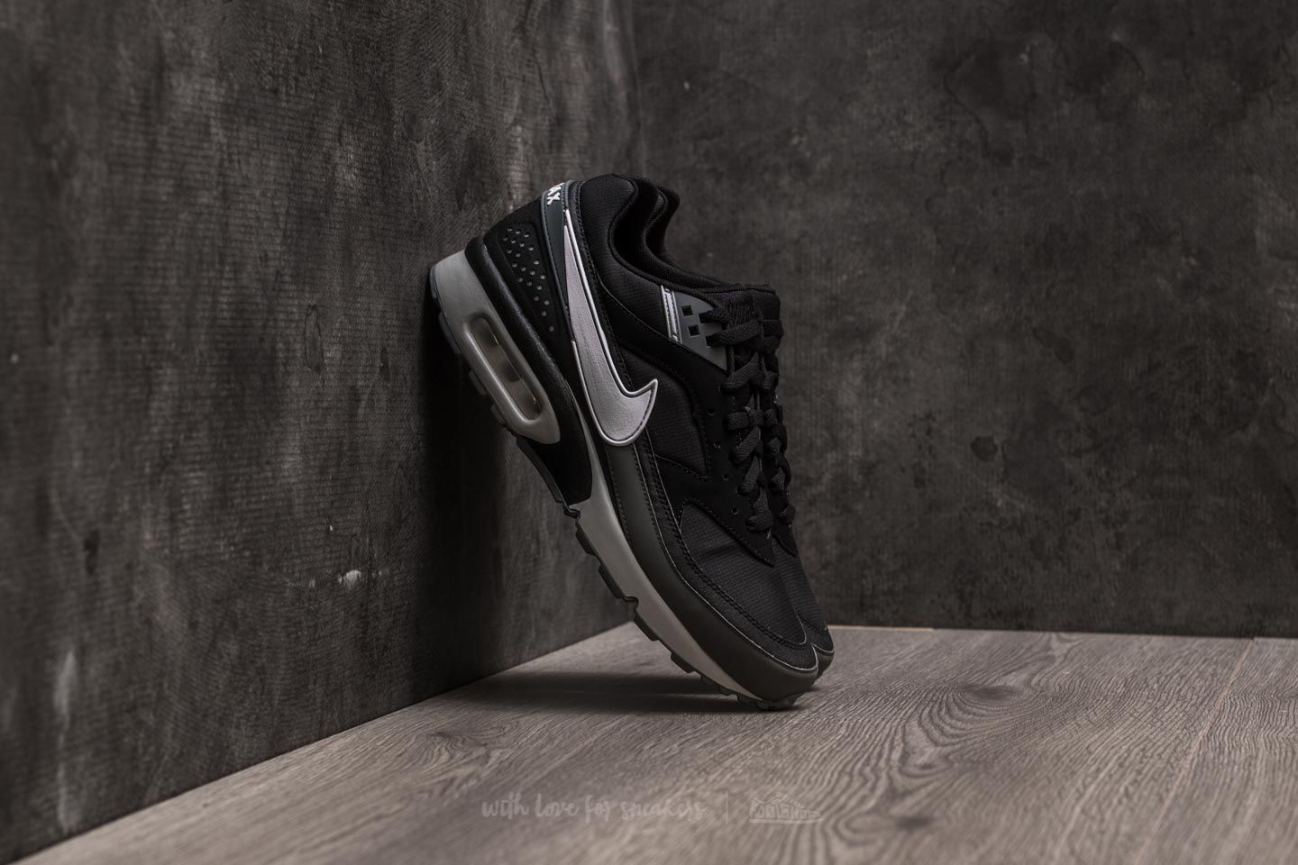 364f457f9875e1 Nike Air Max BW Black  White-Wolf Grey