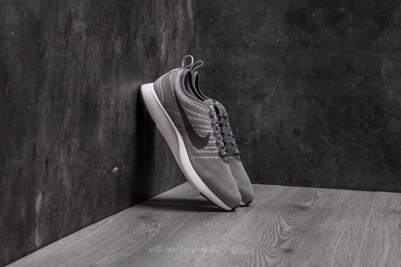 Nike Dualtone Racer (GS) Pale Grey  White-White  9b737ccc26