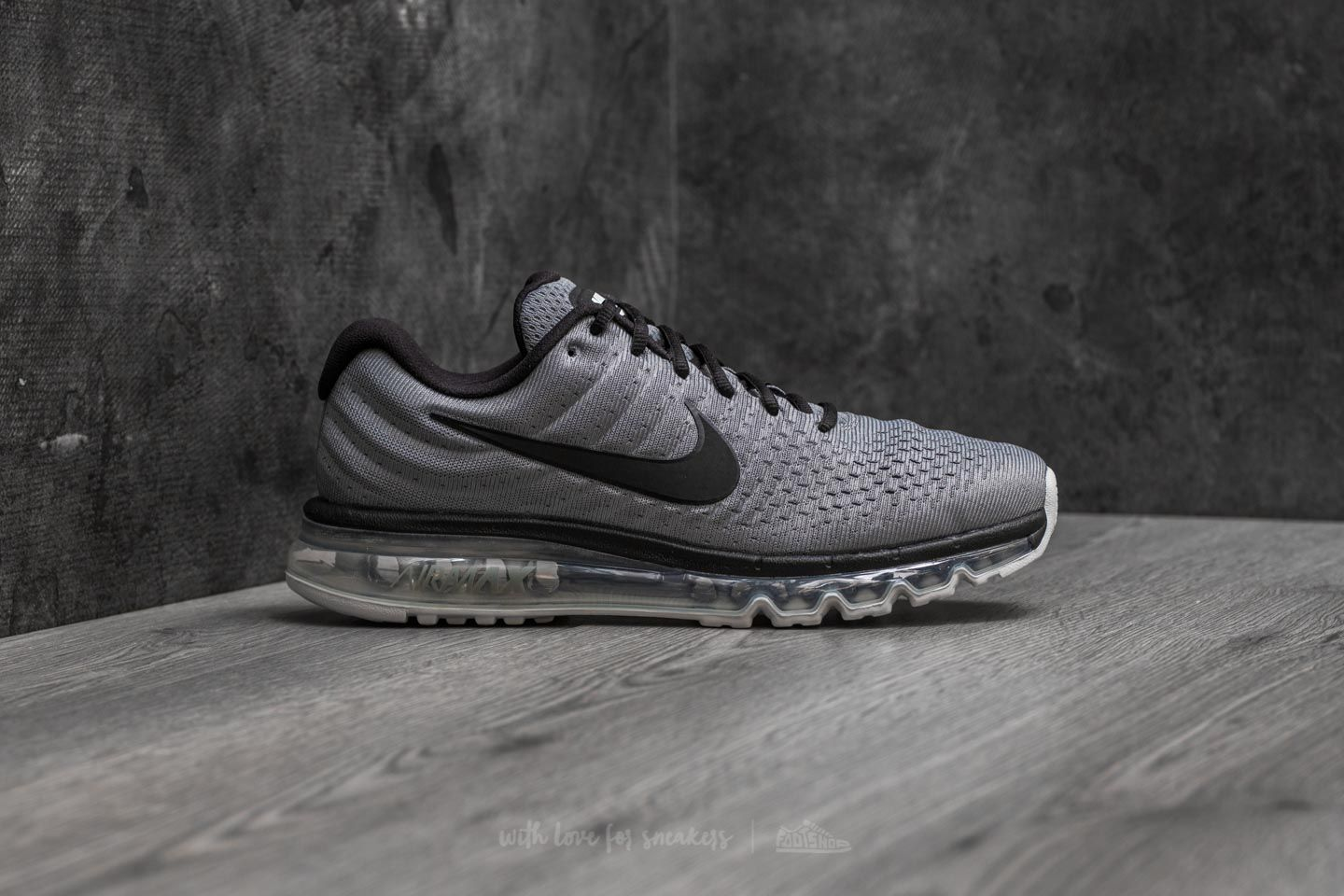buy popular 3dc8b 9524d Nike Air Max 2017 Cool Grey Black-Pure Platinum at a great price 191