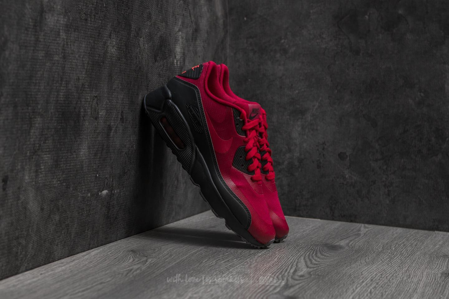 59fcf07b70 Nike Air Max 90 Ultra 2.0 (GS) Noble Red  Noble Red-Anthracite ...