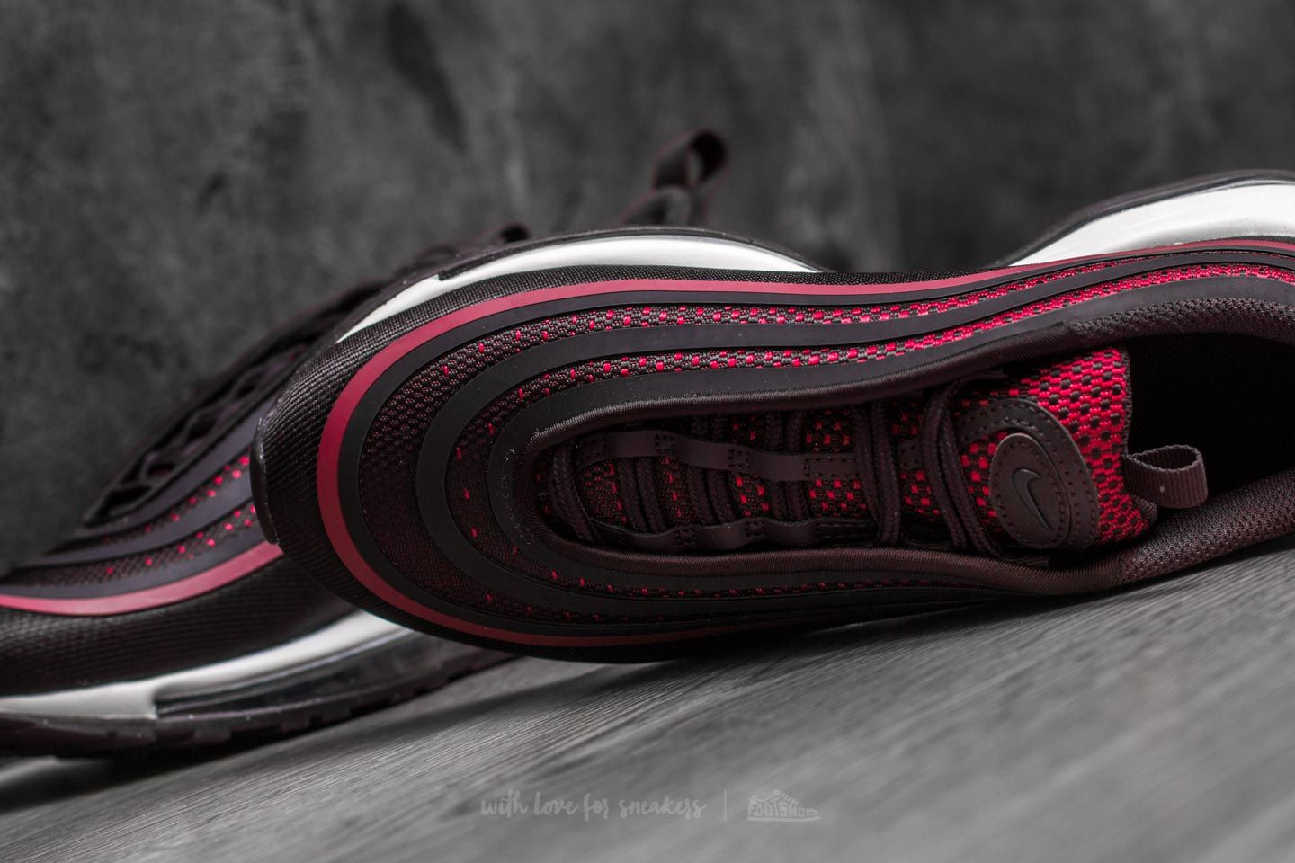 competitive price 64f29 80e3c Nike Air Max 97 Ultra 17 (GS) Noble Red/ Port Wine | Footshop