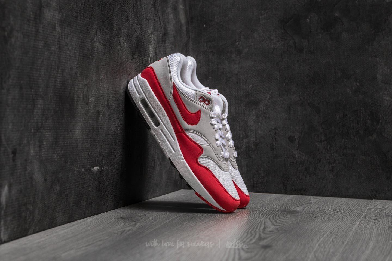 0788f7980c56cc Nike Air Max 1 OG Anniversary White  University Red