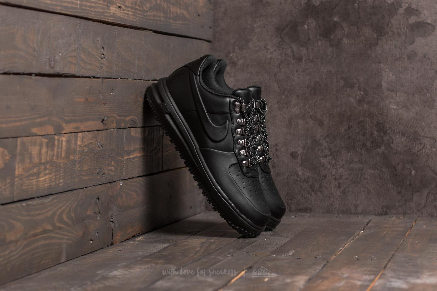info for 33c4b ff963 Nike Lunar Force 1 Duckboot Low. Black  ...