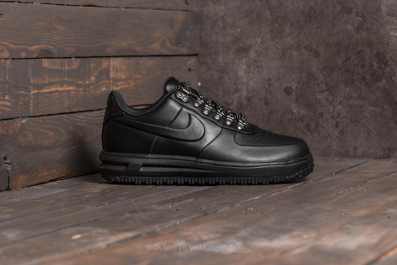 Nike Lunar Force 1 Duckboot Low Black Black Black | Footshop