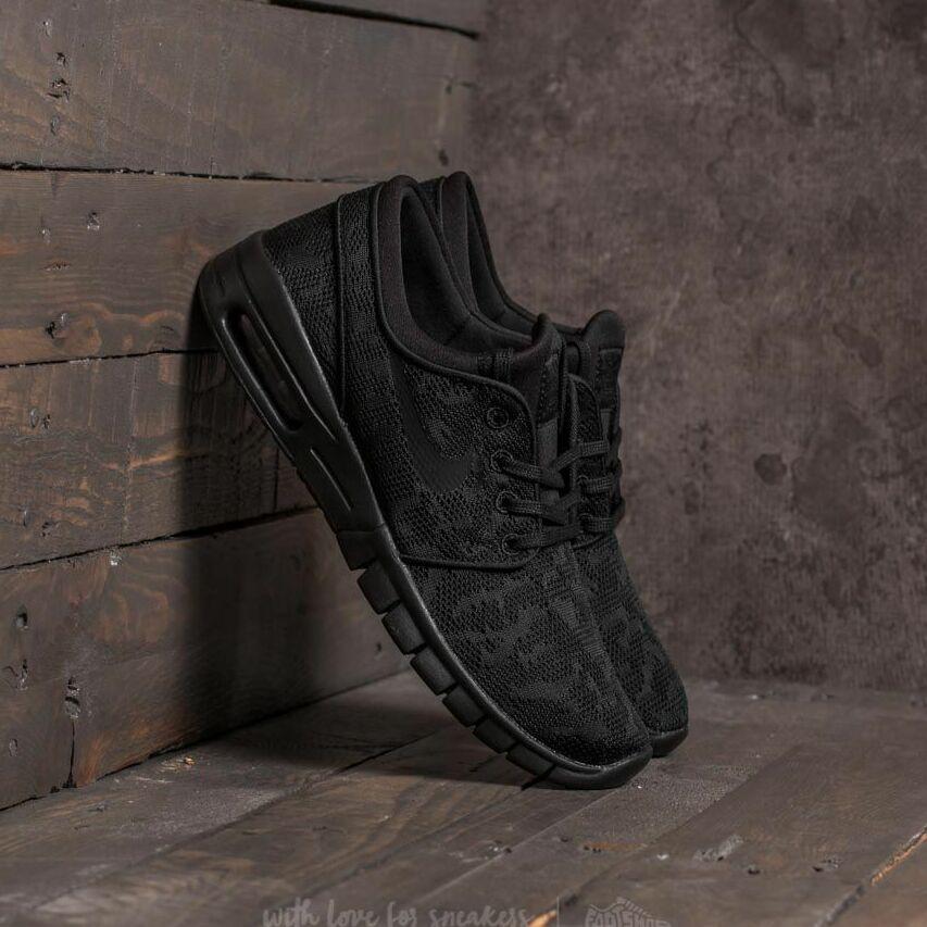 Nike Stefan Janoski Max Black/ Black-Anthracite EUR 42