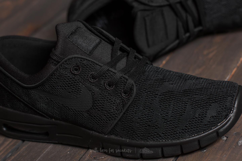 afeitado Travieso Alfombra de pies  Men's shoes Nike Stefan Janoski Max Black/ Black-Anthracite | Footshop
