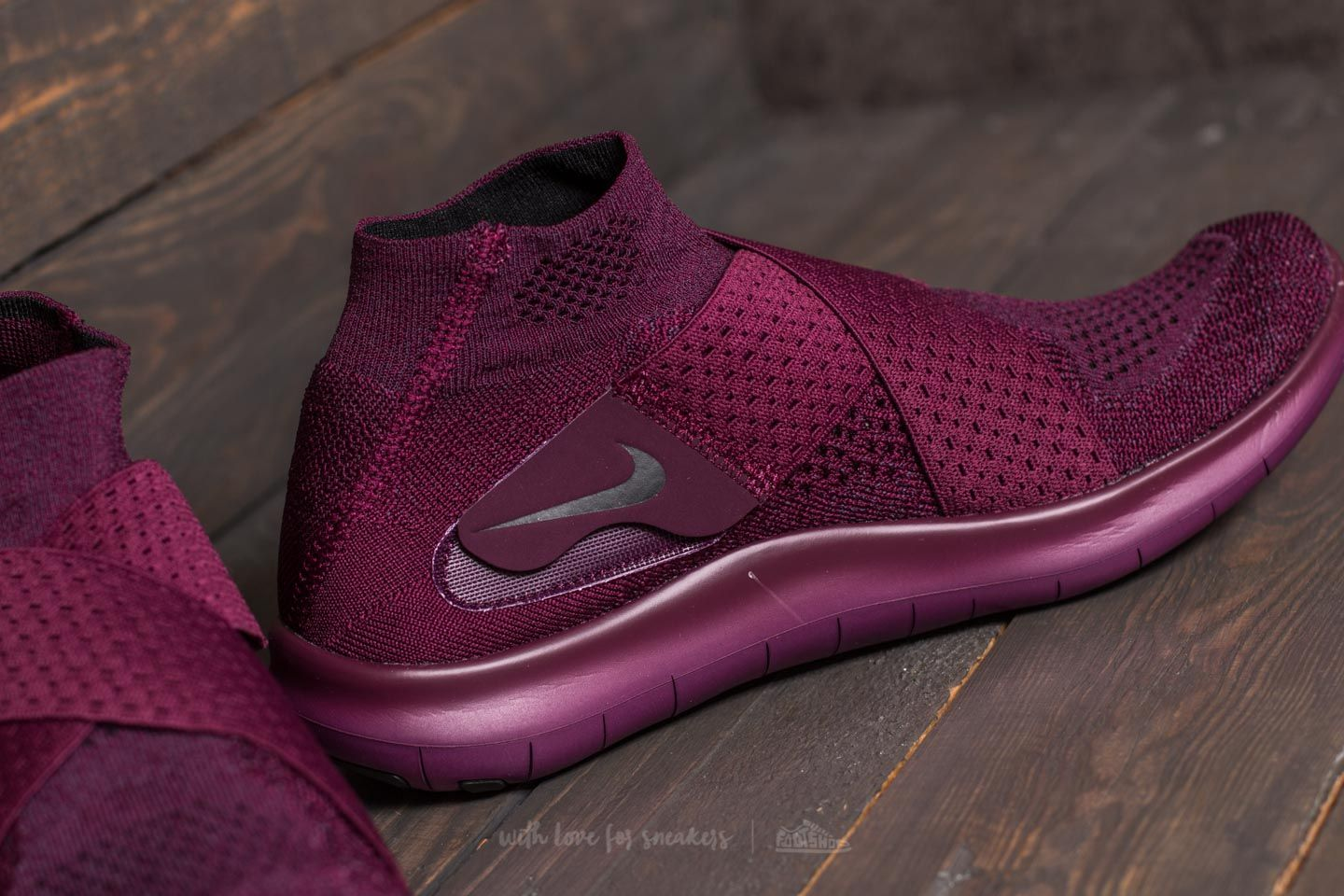 reputable site 68351 c1e2b Nike W Free RN Motion Flyknit 2017 Bordeaux/ Black-Dark ...