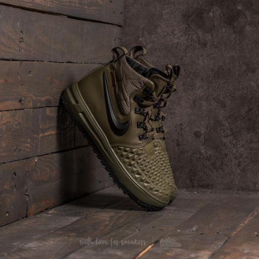 Nike Lunar Force 1 Duckboot 'Medium Olive and Wolf Grey