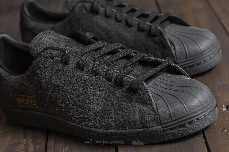 cheap for discount 1396d 7a7b0 adidas Superstar 80s Clean Utility Black/ Utility Black ...