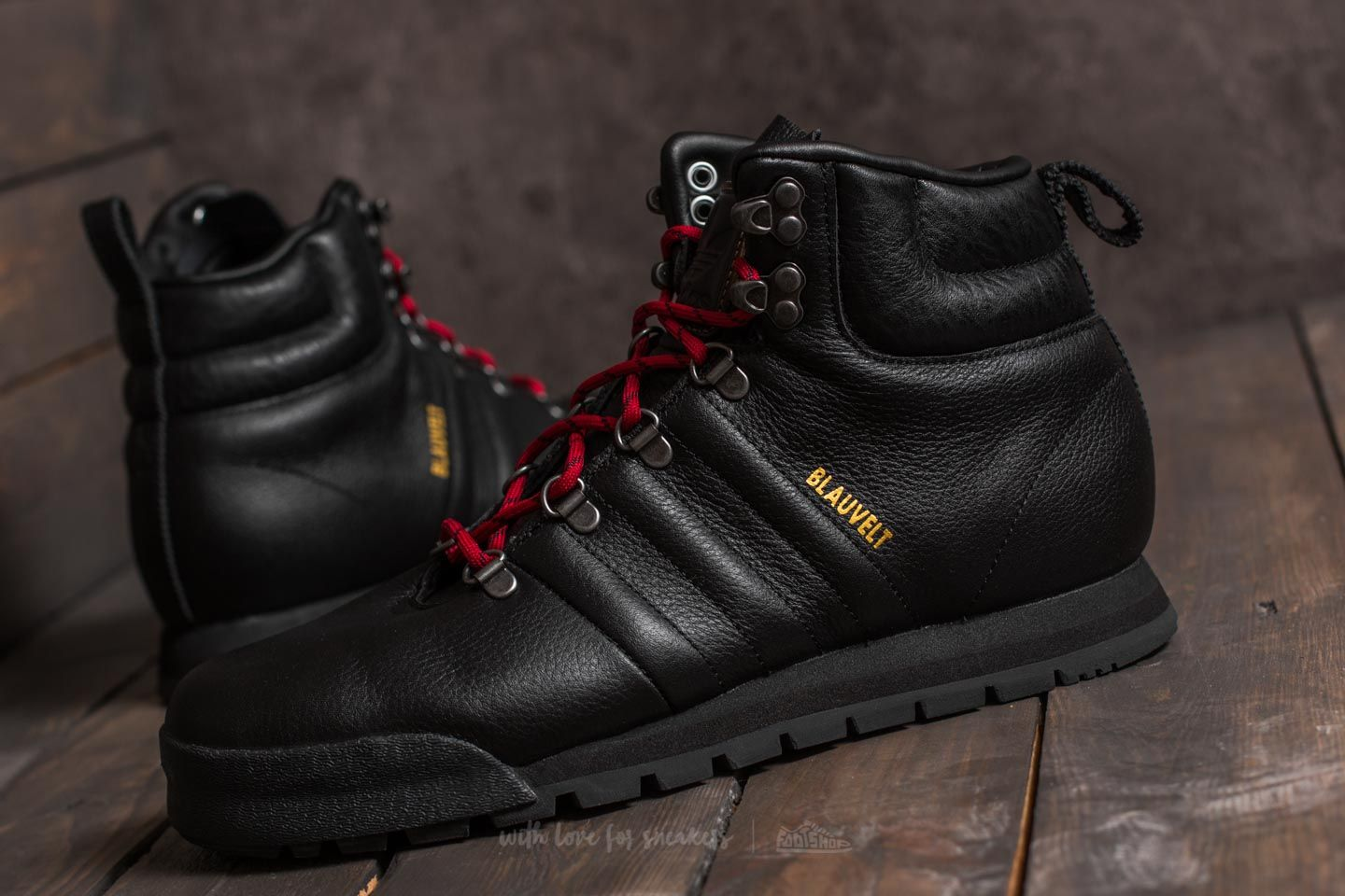 f7da7c03c86 adidas Jake Blauvelt Boot Black 1/ Black 1/ University Red | Footshop