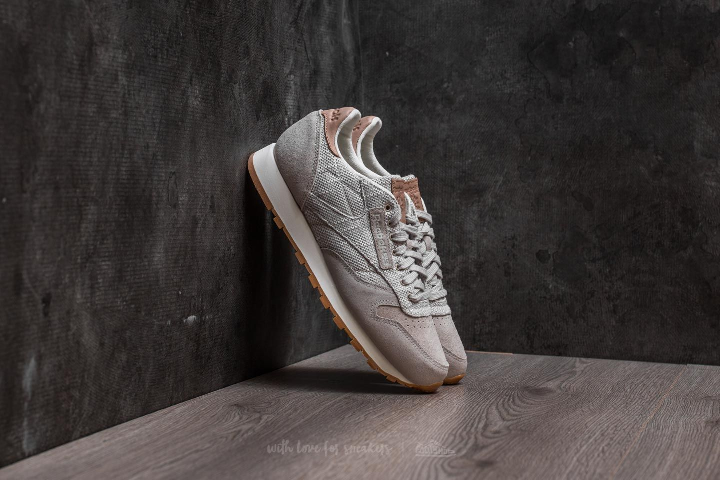 0641c0b9 Reebok Classic Leather EBK Sandstone/ Chalk-Gum | Footshop