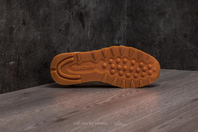 Reebok Classic Leather EBK Sandstone Chalk Gum Footshop
