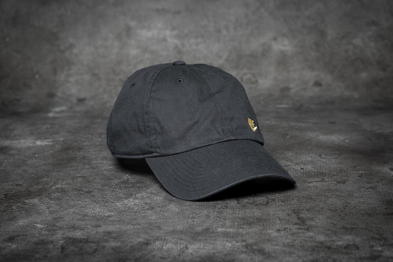015671da868 Nike Heritage86 Futura Classic Cap Black  Gold Metallic