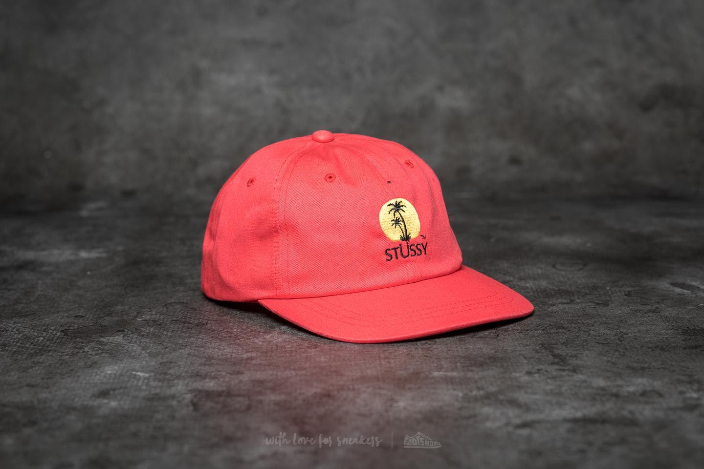 b3ef1f760e1 Stüssy Sundown Low Pro Cap Red