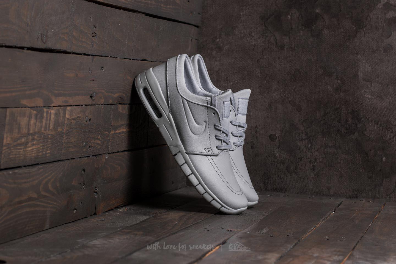 ponerse en cuclillas fórmula Lechuguilla  Men's shoes Nike Stefan Janoski Max L Wolf Grey/ Wolf Grey