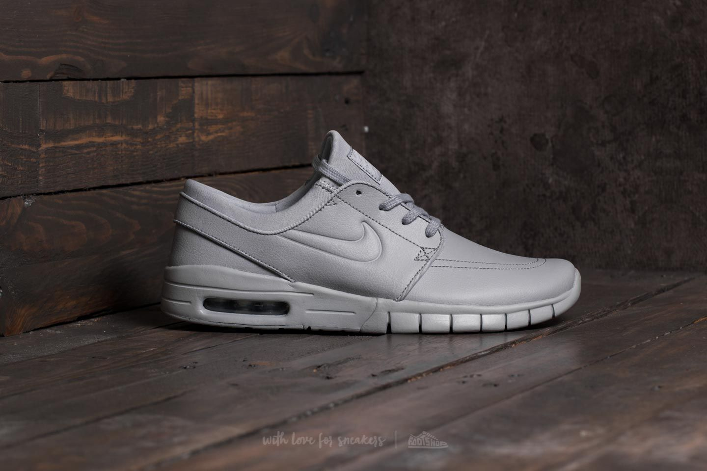 hot sale online 90062 82d56 Nike Stefan Janoski Max L Wolf Grey  Wolf Grey at a great price £118