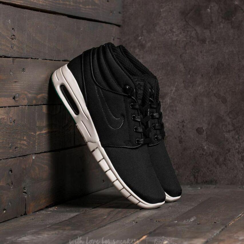 Nike Stefan Janoski Max Mid Black/ Black-Neptune Green EUR 42