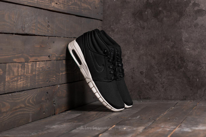 Pánské tenisky a boty Nike Stefan Janoski Max Mid Black/ Black-Neptune Green