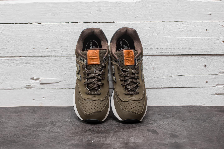 New Balance 574 Olive au meilleur prix 66 € Achetez sur Footshop a6c1ff66468c