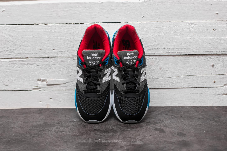 sale retailer 76210 5beab New Balance 597 Black/ Grey/ Red-White-Blue | Footshop