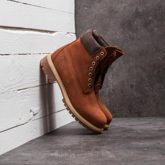 Timberland 6 Inch Boot Rust Brown | Footshop