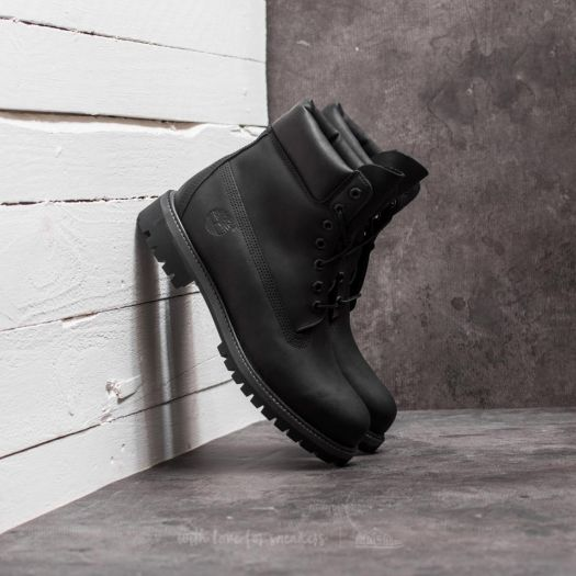 Timberland Femme 6 inch Premium Waterproof Noire Boots